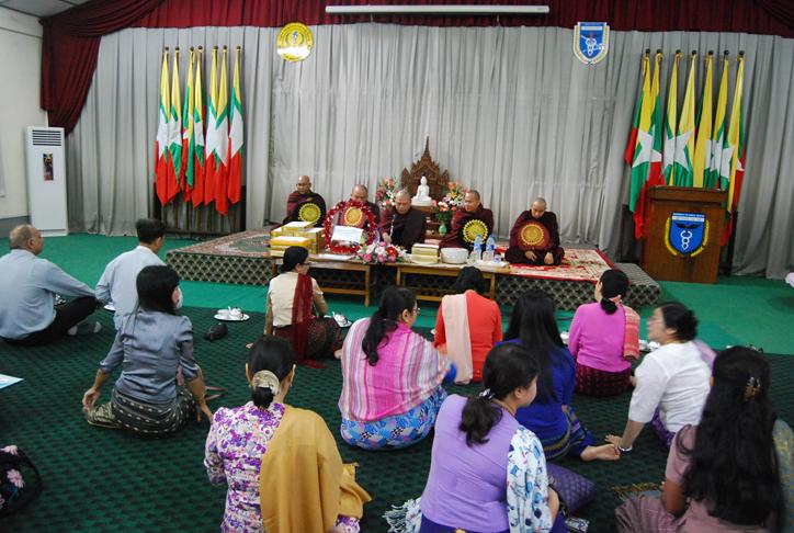 Kathina Ceremony at UPH